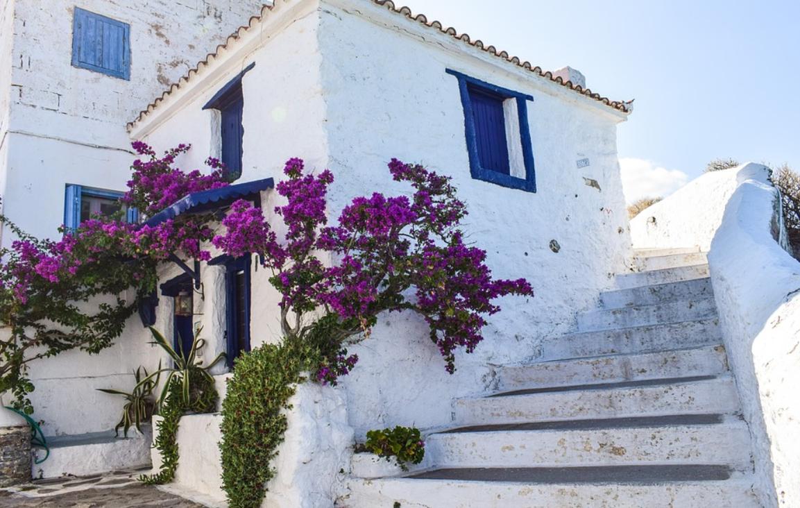 dům v Řecku