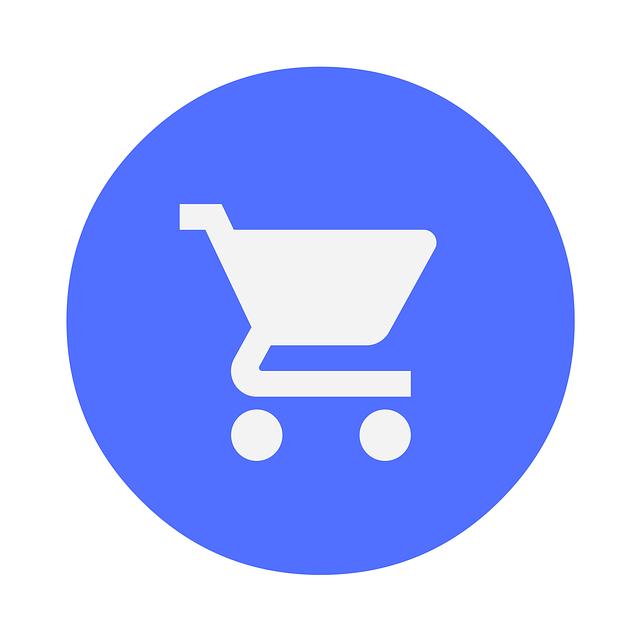 vozík elektronického obchodu