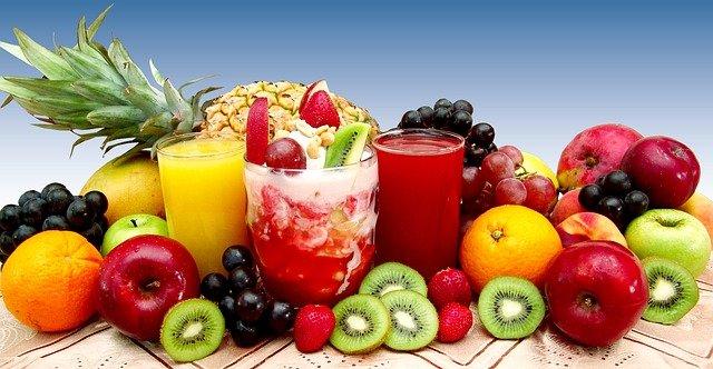 džusy z ovoce