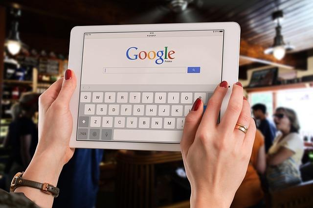google na tabletu