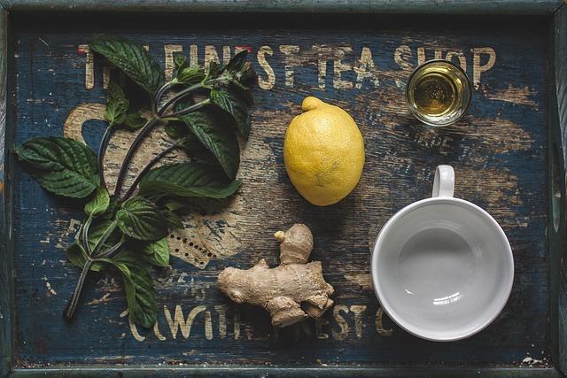 citron a med do čaje